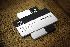 Simpolio Business Card Template
