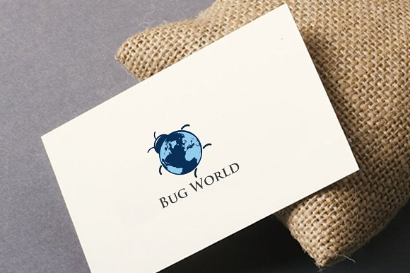 Bug World in Logo Templates - product preview 1