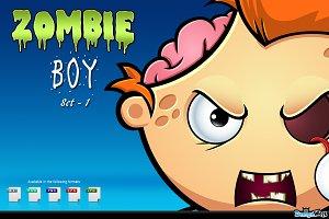 Zombie Boy - Set 1