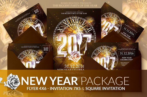 Classy NYE 2017 - Psd Package