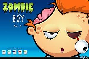 Zombie Boy - Set 2