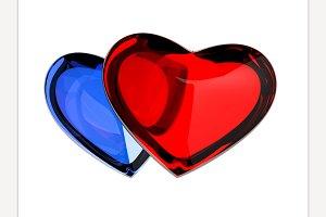 3d heart render