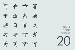 Figure skating icons