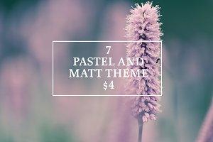 PASTEL AND MATT