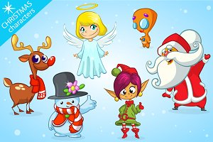 Christmas Cartoon Characters