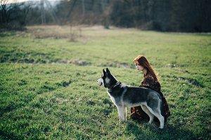 Huskies girl