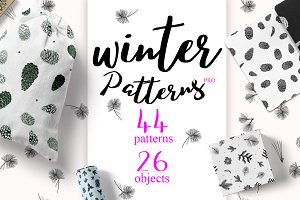 44 Winter patterns set