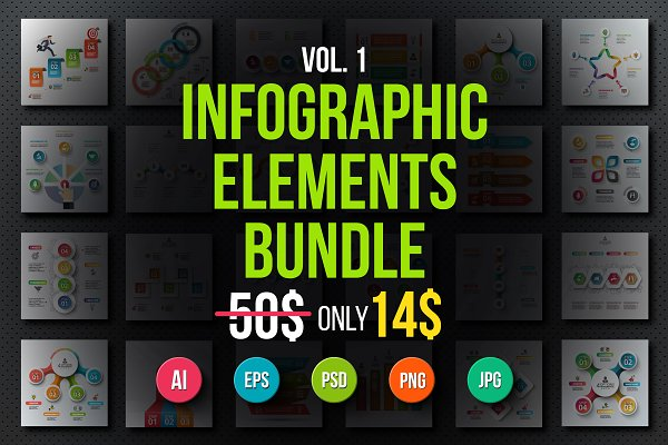 Infographic elements bundle v.01