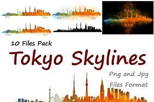 10xFiles Pack Tokyo Skylines