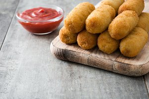 Fried Spanish corquettes