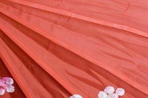 red color style umbrella