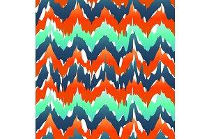 Vibrant chevron pattern. Spring