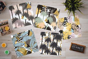 Tropical patterns collection