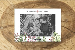 Christmas Card Template 042