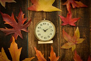 Time in autumn