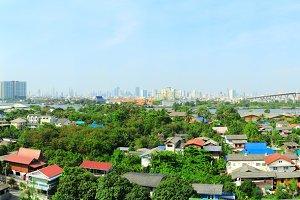 Bangkok suburb - panoramic view.jpg
