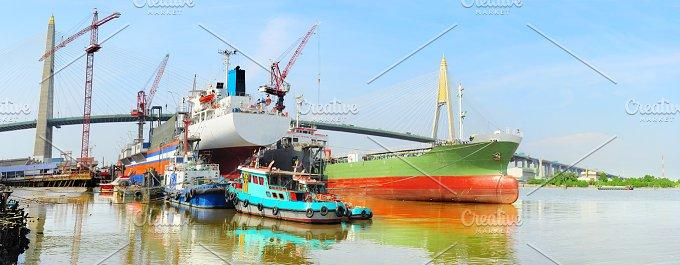 Industrial dock in Bangkok.jpg - Industrial