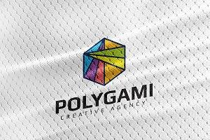 Polygami Logo Template