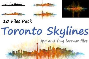 10xFiles Pack Toronto Skylines