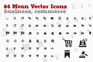 Sell & Buy! - 64 Business Icons