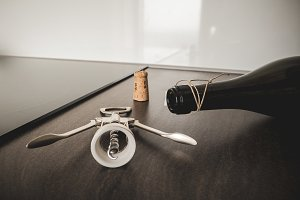 Opening wine #6