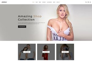 Leeray Fashion Ecommerce Template