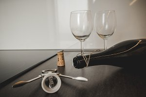 Opening wine #7