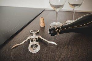 Opening wine #8