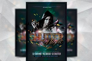 Shutter Night - Flyer Template