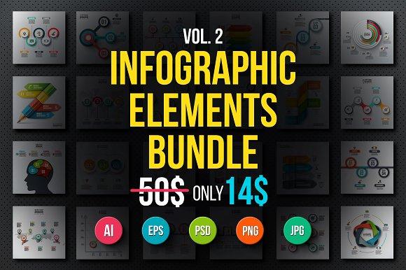Infographic elements bundle v.02 - Presentations