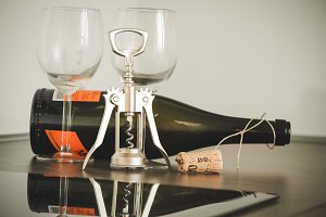 Opening wine #12