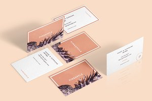 Pineapple - Business Cards Template