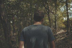 Forest Walking Scene 2