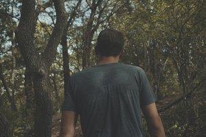 Forest Walking Scene 3