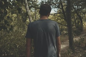 Forest Walking Scene 4