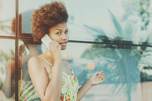 attractive young brazilian teen girl