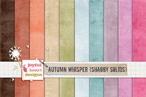Autumn Whisper {shabby solids}