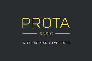 Prota Basic - Clean Sans Font (-30%)
