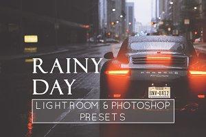 8 Rainy Day LR & PS Presets