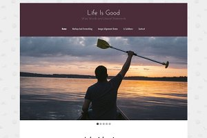 Life Is Good WordPress Blog Theme