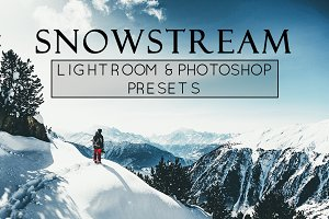 5 Ski and Snow Theme Lr & Ps Presets