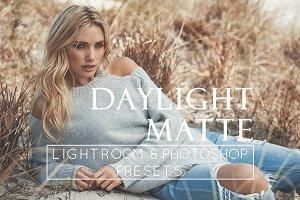 5 Matte Day Portrait Lr & Ps Presets