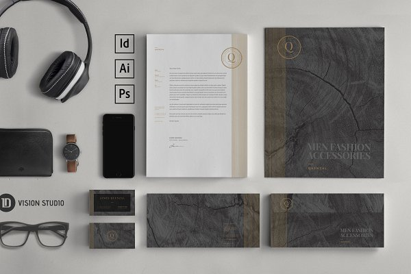 Stationery Templates: ID Vision Studio - Stationery Corporate Identity 008