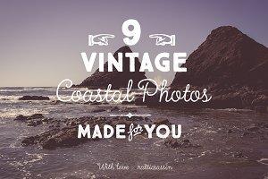 Vintage Coastal Photo Pack