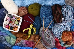 Knitting Still Life