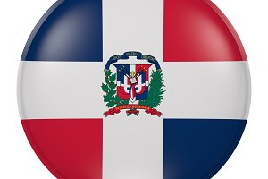 Dominican Republic button