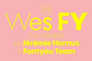 Wes FY Family (5 fonts)