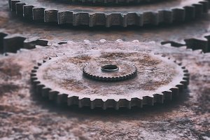 A clockwork gear