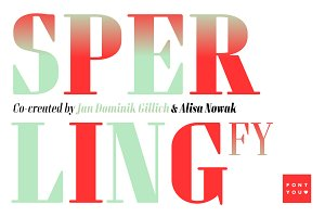 Sperling FY Bold Italic