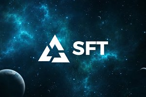 Sci-Fi Triangular Logo